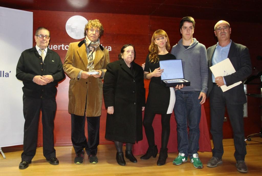 Entrega del premio Angel Serradilla a Jesus Quitero