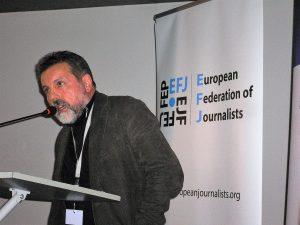 Luis Menéndez en el congreso europeo de Sarajevo 2016