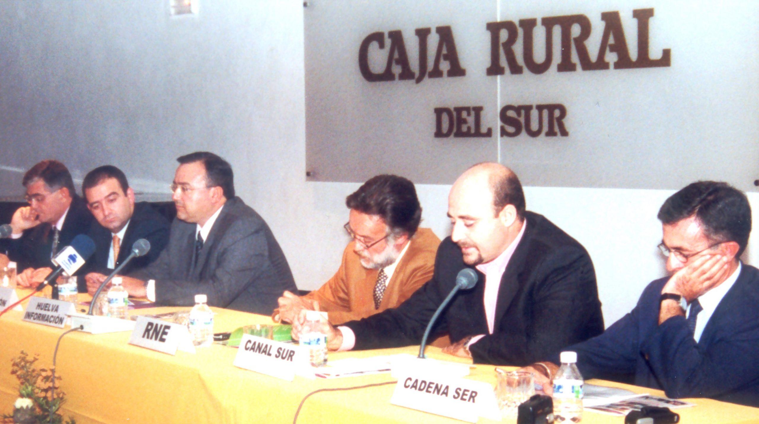 encuentro de profesionales celebrado en 2002 que impulsó la Fundación Tau para debatir sobre el enfoque periodístico de la discapacidad